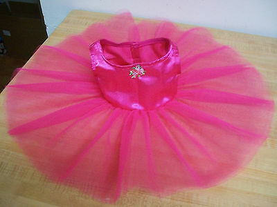 "BALLET BALLERINA TUTU PANTY SLIPPERS YELLOW for 16-18/"" CPK Cabbage Patch Kids"