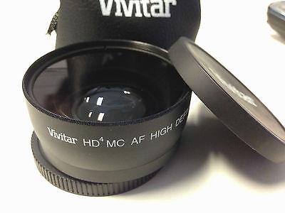 2.2X Pro Hi Definition Telephoto Lens for JVC GC-PX100 GZ-GX1