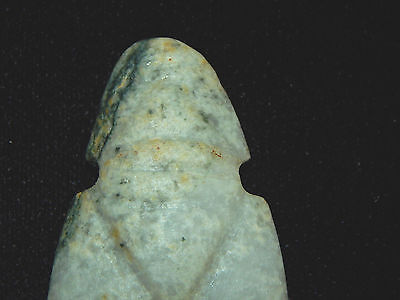 Pre-Columbian Avian Ceremonial Jade Pendant, Nicoya, Authentic