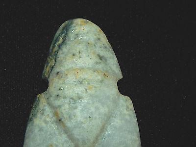 Pre-Columbian Avian Ceremonial Jade Pendant, Nicoya, Authentic 3