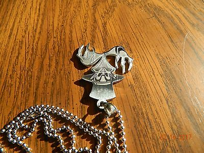 ICP The Ringmaster  Stainless Steel pendant w30 inch ball chain