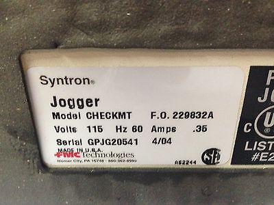 Syntron Check Jogger PN229832-A FMC CheckMate