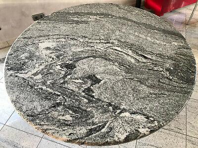 EXKLUSIVER DESIGN GRANITTISCH mit Granitsäule Esstisch