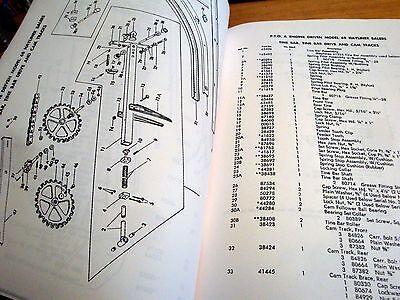 new holland 68 hay baler hayliner parts catalog book list manual nh rh picclick com New Holland 68 Baler Parts new holland 66 baler manual
