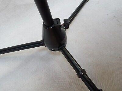 Mikrofonständer + GALGEN + KLEMME Universal Stativ schwarz für alle Mikrofone 4