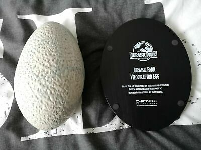 Extremely Rare! Jurassic Park Lifesize Velociraptor Egg LE of 500 Statue Prop 6