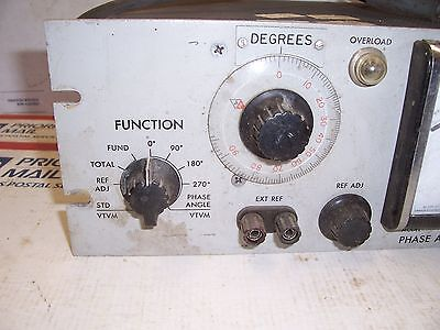 Phase Angle Voltmeter VM-204 S-383 North Atlantic Industries 2