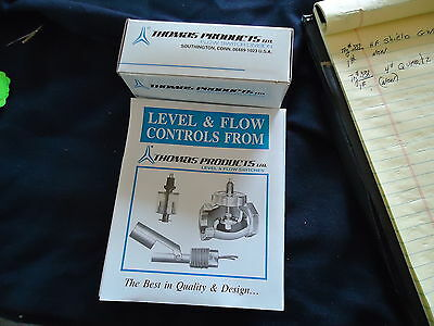 New Thomas Products Ltd Flow Switch Model# 1900 Serial# 18362 3