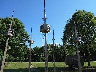 5 Tower Antenna  Wireless Field Alert Pa Event System Emergency Warning Tacwave 5
