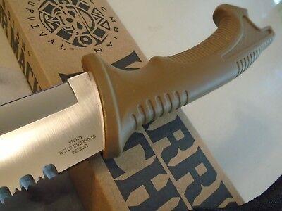 "Colombian Warrior Raptor Machete Sword Knife Saw Hook Full Tang 3234 3Cr13 18"" 8"