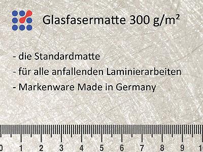 GFK 1 m² GLASFASERMATTE 375g//m² GLASFASER