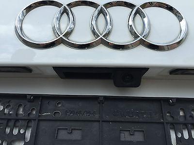Audi a4 s4 rs4 b8 8k camara de vision trasera MMI original nachrüst set cámara Rear View
