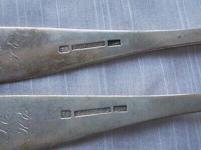 2 FREDERIK JULIUS BRINCK 1856 DINNER FORKS Norway 830 Sterling flatware 7