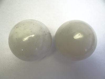 Antique White Glass Architectural Decorative Finial Pieces Balls Accent Parts 4