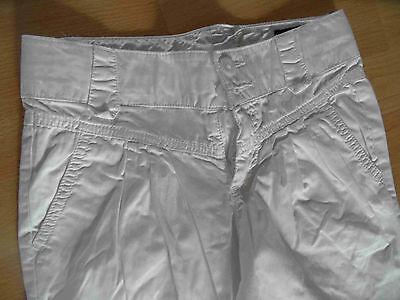 BENETTON schöne Chino Pants CARROT weiß Gr. 10-11 J NEUw.  (SH 514) 3