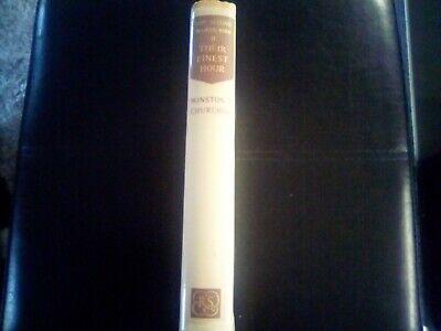 Their Finest Hour - Churchill, Winston. Hardback   The Reprint Societ good 3
