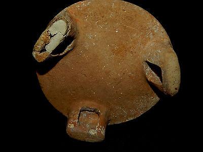 Pre-Columbian Polychrome Three-Footed Mayan Ceramic Pot, Authentic, Rare 9
