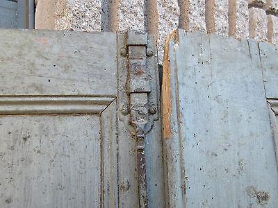 """pAIR ~ LATE 19th century antique furniture CABINET DOORS 74.5"""" x 21"""" & 18.25"""" 4"""