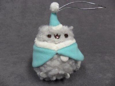 Gund NEW Pusheen Blind Box Christmas Holiday Mini Plush Caroler Stormy