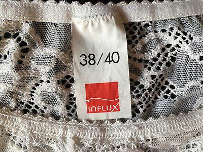 Slips Bikini Slip Hose 2er Unterwäsche Gr 36//38 40//42 wollweiss braun