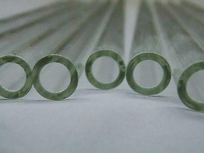 6 Piece 12 inch Pyrex Glass Blowing Tubing 12 mm OD 8 mm ID 2mm Thick Wall 3
