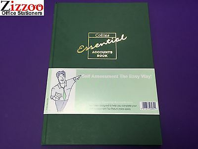 Collins Essential Account Book  A4 With 72 Pages Eab1 With Free Shipping