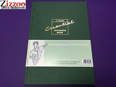 Collins Essential Eab1 Account Book A4 With 72 Pages - Rrp £22.99! 2