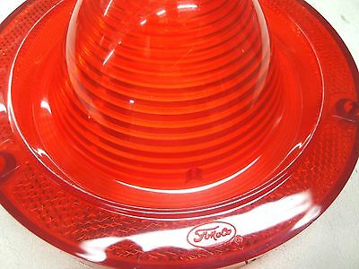 1962 62 FORD FAIRLANE FoMoCo SCRIPT TAILLIGHT LENSE W// BACK UP /& GASKET