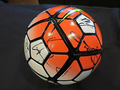 0f31717c590 ... Manchester United Signed Soccer Ball By Team Coa + Proof! Wayne Rooney  + 16 5