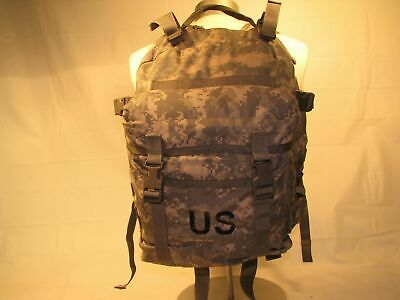 US ARMY ACU ASSAULT PACK 3 DAY MOLLE II BACKPACK w/ Stiffener VGC Made in USA 11