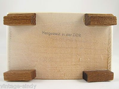 RED WOODEN CUPBOARD   Doll House Sized Accessory   Made in East Germany Ostalgia