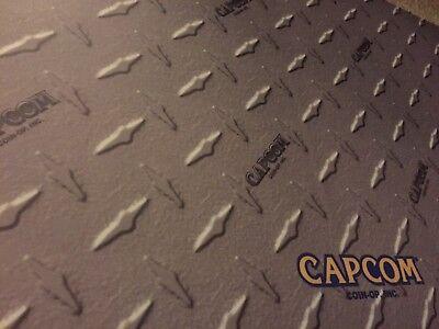 "Laminated Capcom Diamond Plate Arcade Control Panel Overlay 30"" X 16"" (cpo) 4"