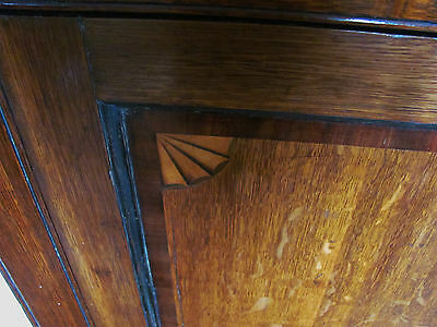 georgian oak corner cupboard corner cabinet 7