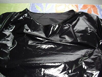 Glanz Nylon Long Shirt Shiny fitness,Wet Look NEU Lack glänzend glossy shirt