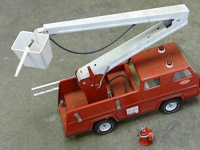 Vintage Tonka 1960's Fire Truck 17 Inches Long Must See High Collectible Vhtf