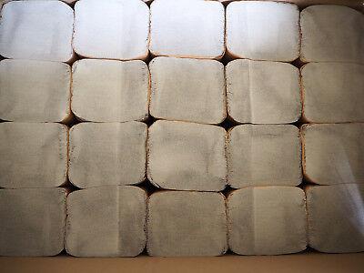 10000x Falthandtücher Papierhandtücher 25x23cm Handtuch 1-lagig Z-Falz