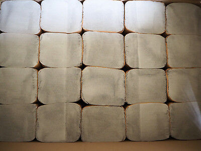 10000x Falthandtücher Papierhandtücher 25x23cm Handtuchpapier 1-lagig ZZ-Falz 3