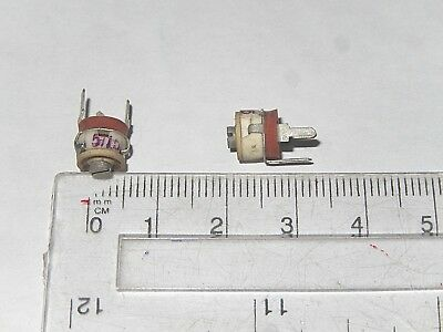 RADIAL Ceramic Military Trimmer Variable Capacitor 6-25pF Lot of 10 pcs.