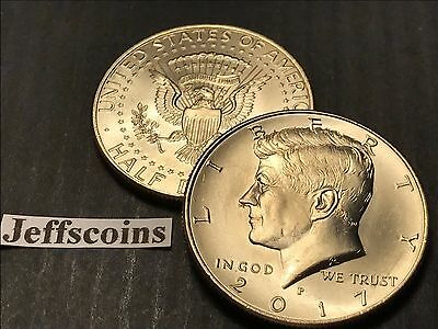 2018 P&D Kennedy Half Dollars Kenedy PD MINT ROLL Clad 50¢ 2 Uncirculated Coins 7