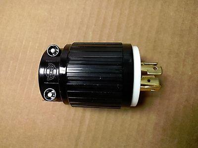 Heavy Duty L14-20P 4-Prong Generator Twist Lock Locking Plug Device 20A 125/250V 3