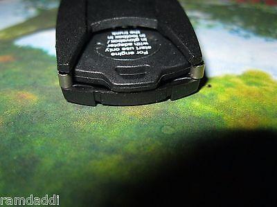 1X BMW PLASTIC Emergency Wallet Spare Valet Key Glove Box Chip 2 Start Car  Incl