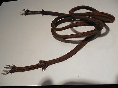 """Antique Telephone Replacement Receiver Cloth Cord Only  36"""" 36  inch 2 Conductor 2"""