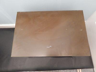 Art Deco Art Metal Green Index Card 4 drawer filer very heavy solid metal Vintag 7