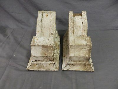 Antique Pair Corbels Wood Small Victorian Architectural Shabby Vtg Chic 517-17P 4