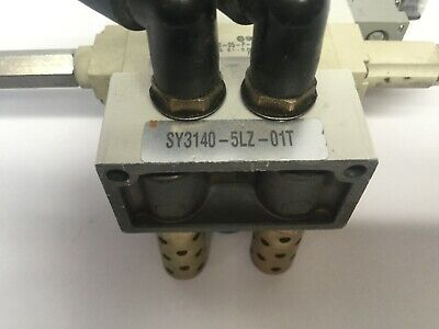 SMC SY3140-5LZ-01T Assy. Solenoid, ARBY3000-05-P-2 Regulator, SY3140-5LZ 6