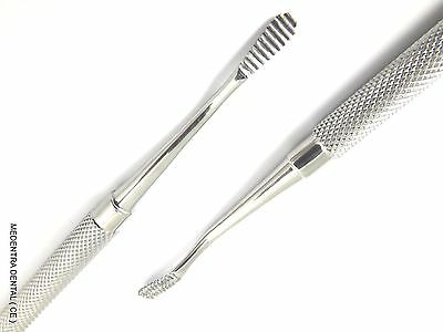 Millers Bone File Double Ended Dental Surgical Orthopedic Implant Dentist Tool 2