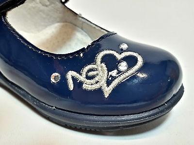 ... Nero Giardini P621360F Scarpe Primi Passi Bambina Ballerine Vernice Blu  7 b88914057be