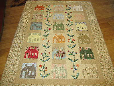 Professional longarm quilting service for your crib//throw size top.