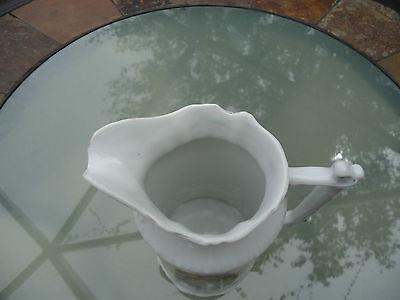 Vintage Porcelain German CT Floral Pitcher Signed & Numbered 5