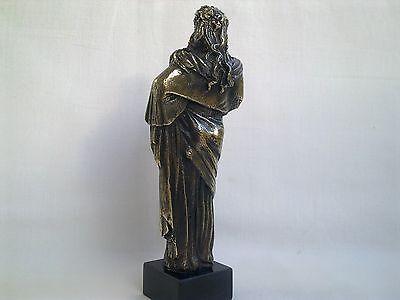 Sculpture Dionysus/Bacchus god of wine Greek Mythology statue figure brass 7